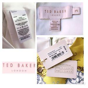 Ted Baker London Dresses - NWT TED BAKER Passion Flower Cap Sleeve Dress